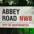 Abbey Road! The famous street the Beatles sang about!