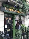 Sherlock Holmes Museum. 221B Baker Street. London UK