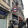 Baker Street tube station. London UK.