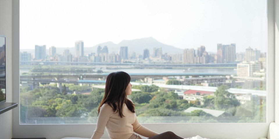 台北北門世民酒店citizenM:超完美高空景觀、平價台北車站住宿推薦