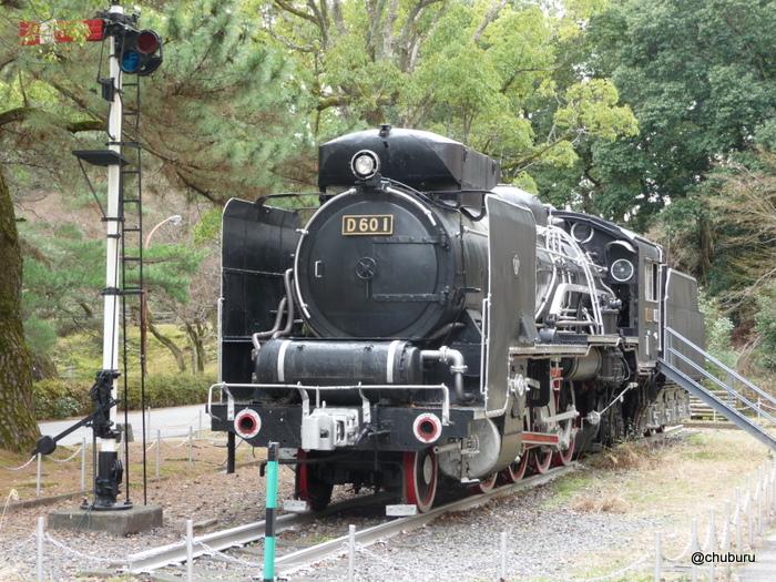 D60形式1号蒸気機関車(山口博物館)