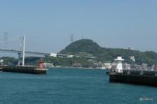 恋人灯台(唐戸桟橋)