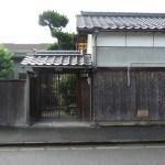西田幾多郎がかつて住んでいた家