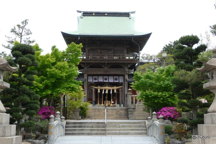 彦島八幡宮のペトログラフ