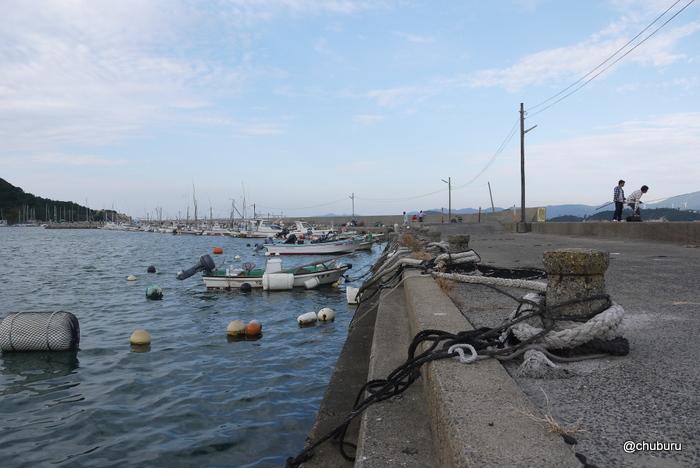 室津下漁港