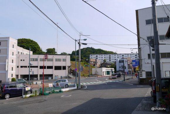 北浦街道を後田町から山の口町まで。