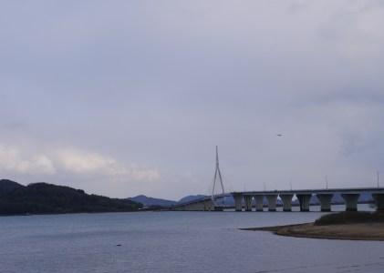 周防大橋を歩いてきた。一部だけど。