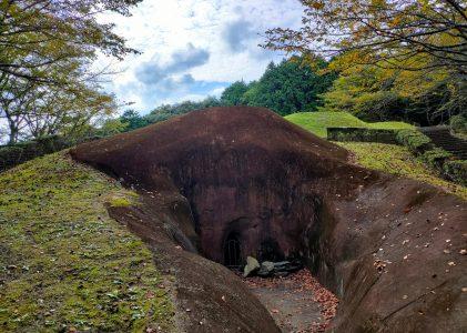朝田墳墓群に行ってきました。