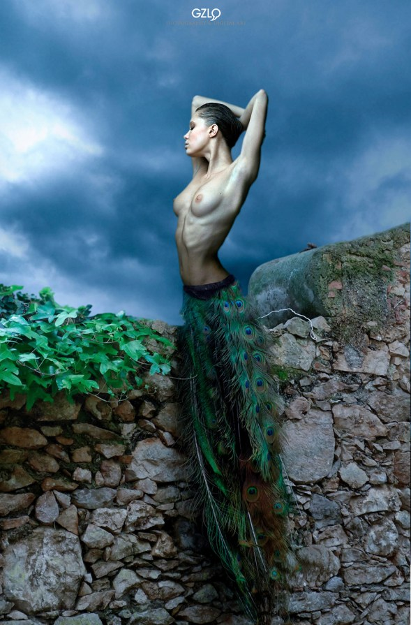Photocreation: Gonzalo Villar - Model: Oksana Chucha - Photo of Model: Dmitry Ardnautov