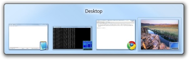 Windows 7 task switcher