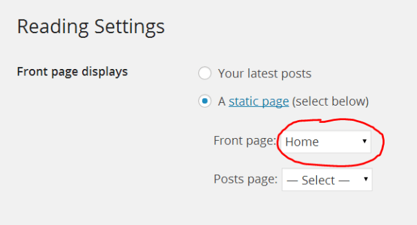 wordpress-front-page