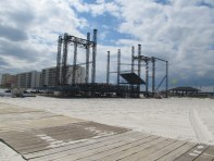 Hangout Music Fest's West Stage Rises like a Phoenix from Gulf Shores Sands