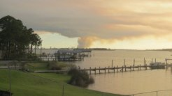 State Park Fire in Orange Beach and Gulf Shores2