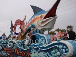2013  Mardi Gras Schedule - Orange Beach