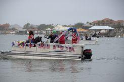Perdido Key Mardi Gras Boat Parade 2018--19