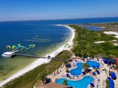 Portofino Condos Pensacola Beach Pools and Soundside Beach