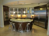 Gourmet Kitchen with Island Bar Seating