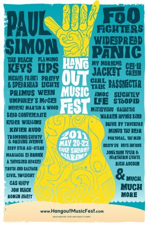 Hangout Music Festival Poster