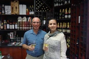 With Tatiana Iascova