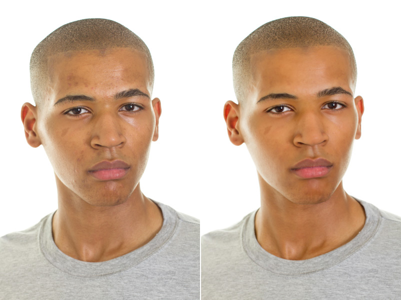 Retouch Example