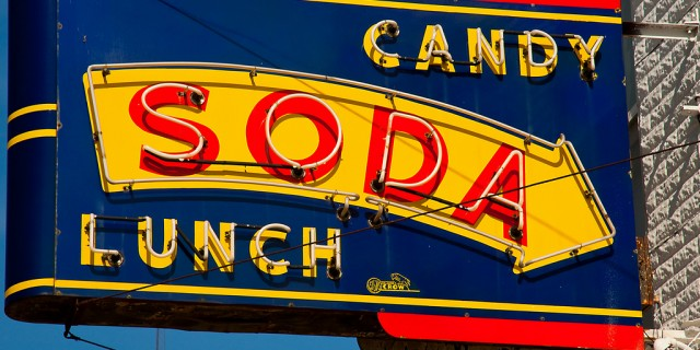 Candy Soda Lunch
