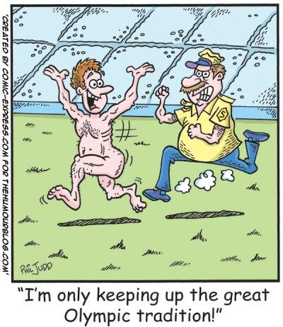 Funny Olympics Cartoon