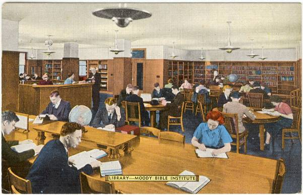 MOODY BIBLE INSTITUTE – LIBRARY | CHUCKMAN'S PHOTOS ON ...