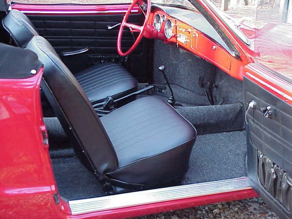 Front Amp Rear Seat Covers 1 2 74 Karmann Ghia