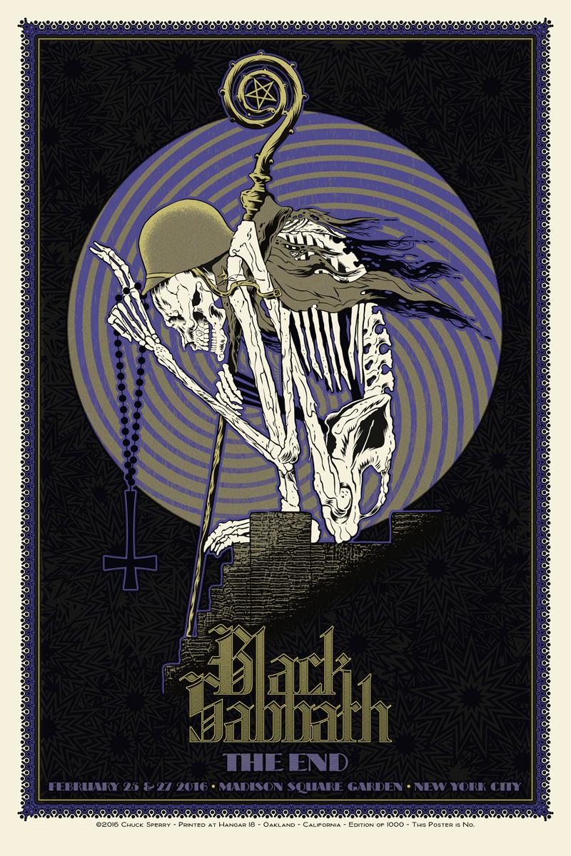 Detroit Rock Poster Art
