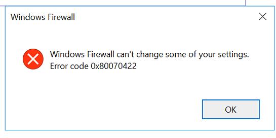 Image result for Windows error code 0x80070422