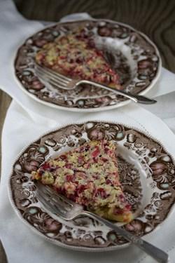 clafoutis-cranberry