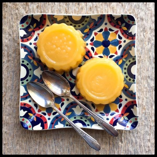 gelatina-laranja com agar agar