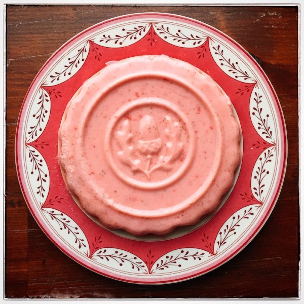 gelatina de morango