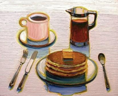 Wayne Thiebaud Pancake Breakfast