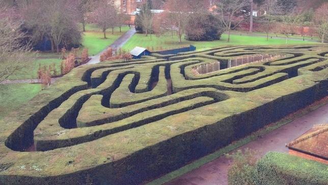 Hampton-Court-Maze