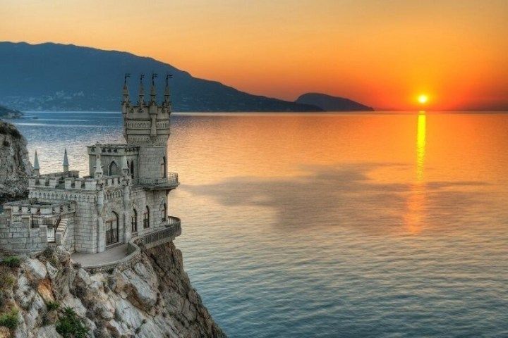 Swallow's Nest Palace, Crimea, Ukraine