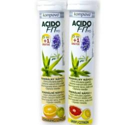 acidofit prekyslenie detoxikácia