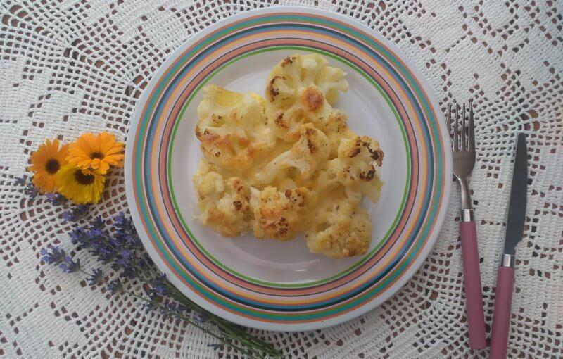 Pečený karfiol so zemiakmi