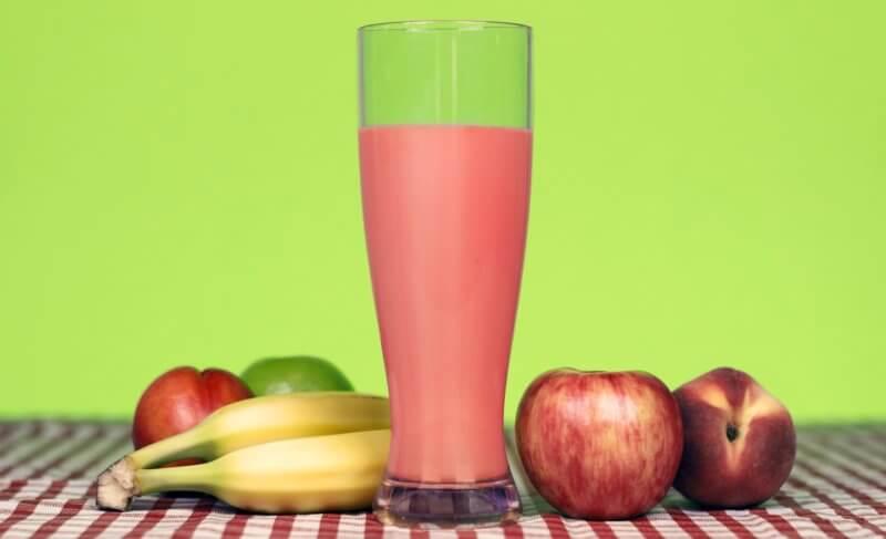 pitný režim počas chudnutia - smoothie nápoj