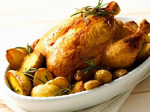 Рецепты: Курица с картошкой в духовке: 4 рецепта с фото ...