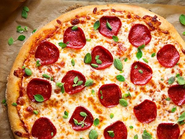 Пицца с колбасой пошаговый рецепт с фото ЧудоПовар