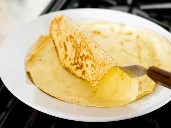 Тонкие блинчики на молоке: рецепт с фото пошагово   Чудо-Повар
