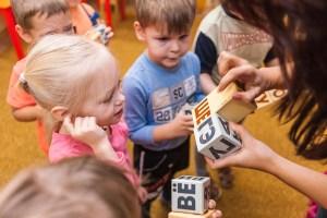 Чтение по кубикам Зайцева, детский центр Бутово