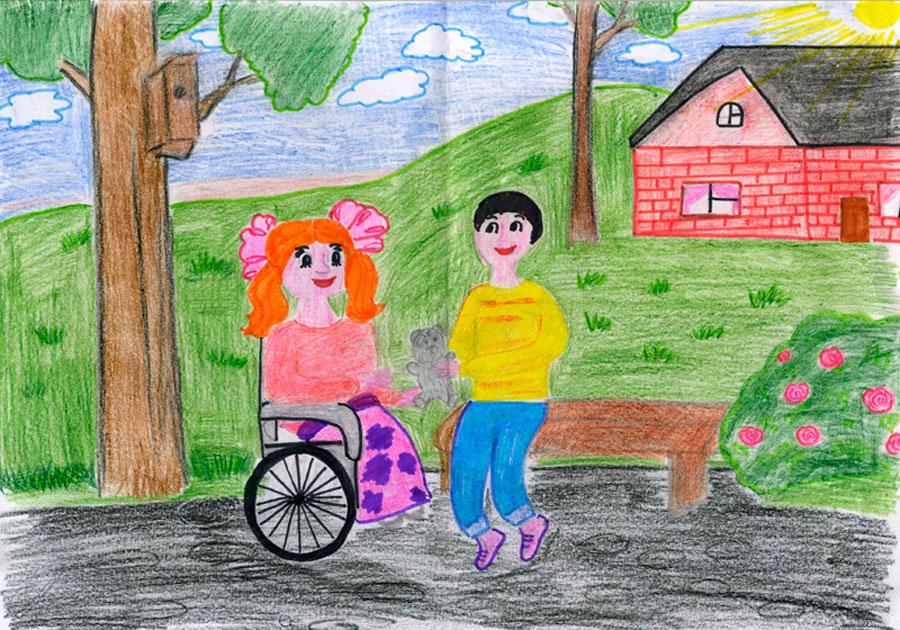 Результаты конкурса детских рисунков «Добрые дела»