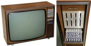 Oud TV-toestel
