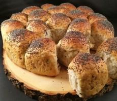 Het brood na afbakken