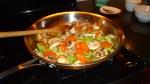 Saute with mushrooms