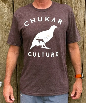 Heathered Brown Chukar Culture T-shirt