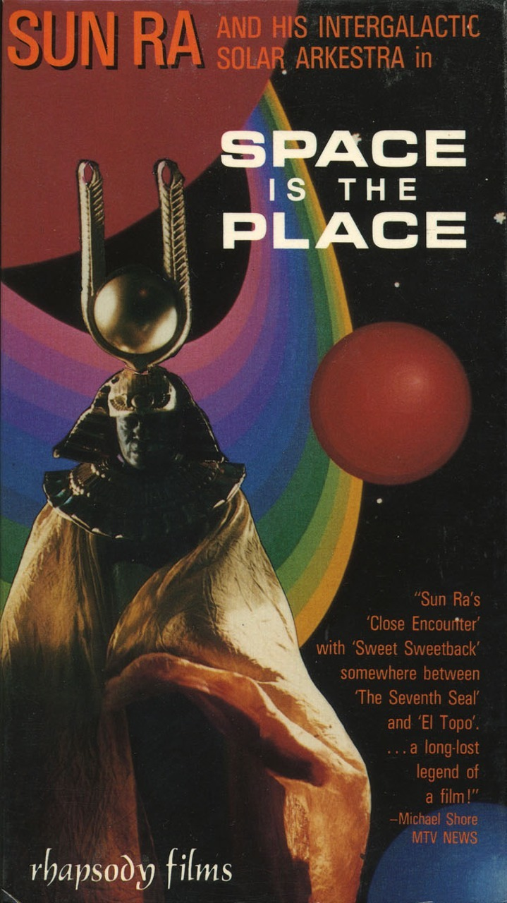 """aleneigen: """" Space Is the Place, by Sun Ra """""""
