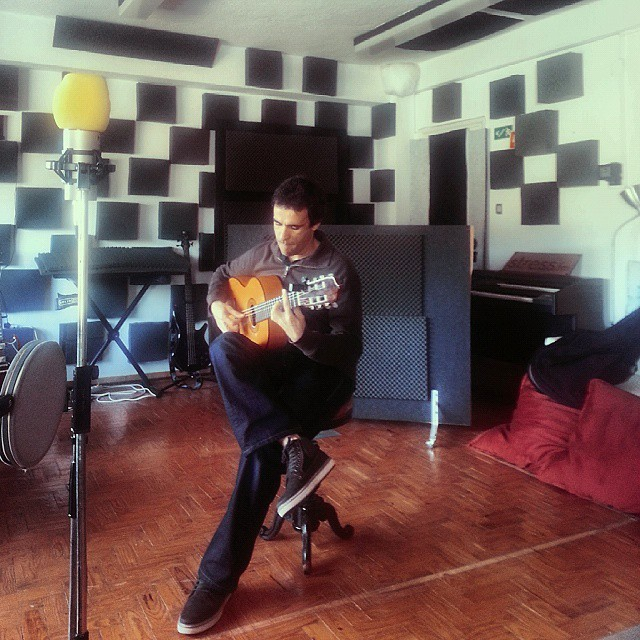 Gustavo Lourenço - first recording session / #thecompanysound / #Lisboa / http://ift.tt/1EkjBhZ